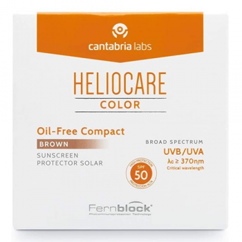 Heliocare Compacto Extreme Oil-Free Spf50, Brown.