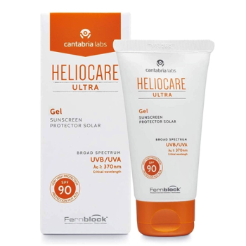 Heliocare ultra -gel protector solar spf90-, 50 ml.