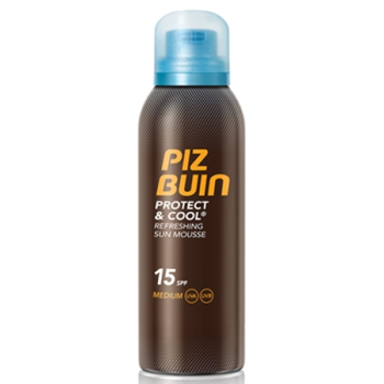 PIZ BUIN Protect  Cool -mousse solar refrescante spf15-spray,150ml