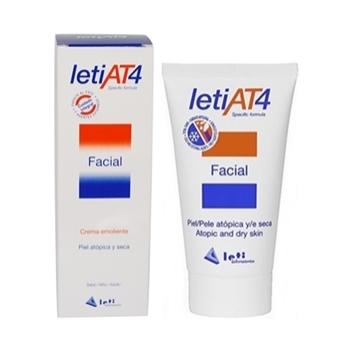 Leti AT4 Crema Facial Pieles Atópicas - 50ml.