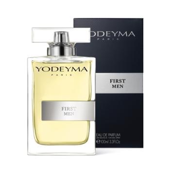 Yodeyma First Men Spray 100 ml, Agua de Perfume Original de Yodeyma para Hombre.