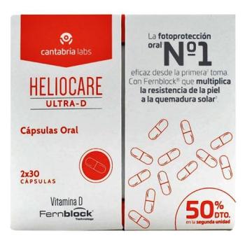 Heliocare ultra D,30capsulas, 2+1
